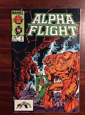 Marvel Comics Alpha Flight #9