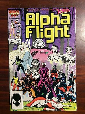 Marvel Comics Alpha Flight #33