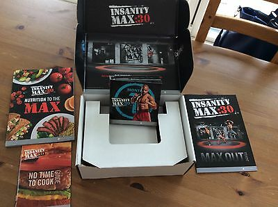 Shaun T's INSANITY MAX:30 Base Kit Workout DVDs