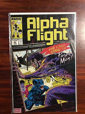 Marvel Comics Alpha Flight #62