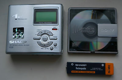 Sharp Md-Dr470H(S) 1 Bit Portable Mini Disc Md Recorder / Player