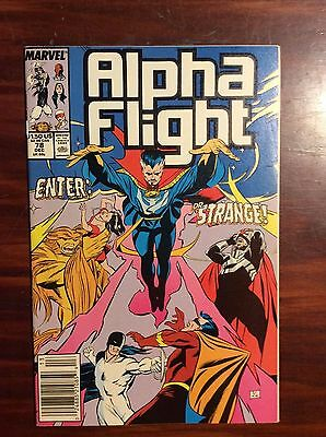 Marvel Comics Alpha Flight #78