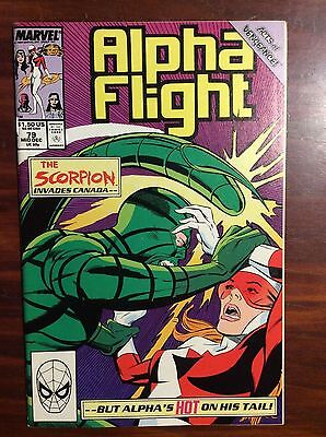 Marvel Comics Alpha Flight #79