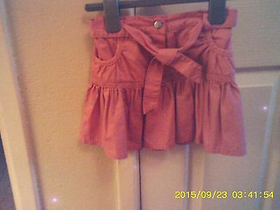 Girls Pink George Skirt Age 3/4 (Bnwt)