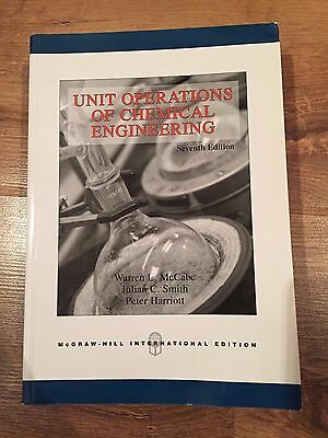Unit Operations Of Chemical Engineering 7th Edition McCabe Smith Harriott McGraw