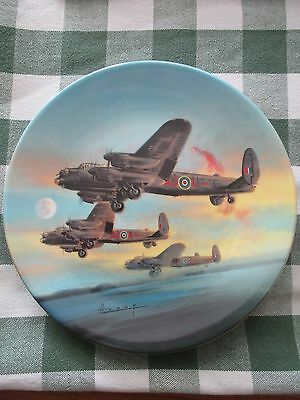 Excellent condition of 8 plates for 50th anniversary of WW2 dambusters raid