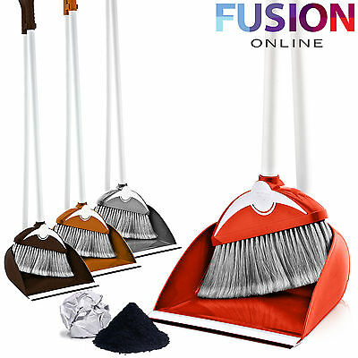 Long Handle Handled Dustpan Dust Pan And With Brush Set Sweeper Dustpan Set 315