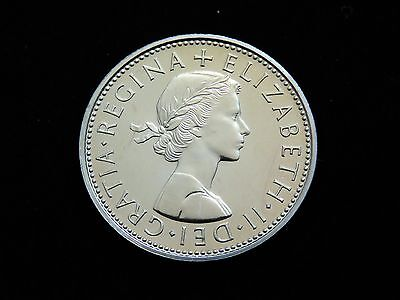Bright Uncirculated Proof 1970 Great Britain Two Shillings Coin Lot 18528