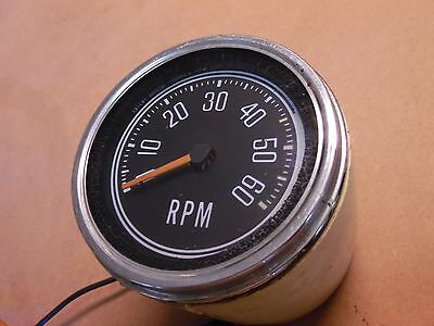 used vintage sun tachometer model rc 85 0 50 rpm rat rod tach jeep cj factory tachometer 76 86 cj5 cj7 cj8 golden eagle renegade laredo tach