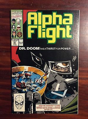 Marvel Comics Alpha Flight #91