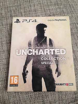 Uncharted The Nathan Drake Collection Special Edition Steel Art Book Ps4