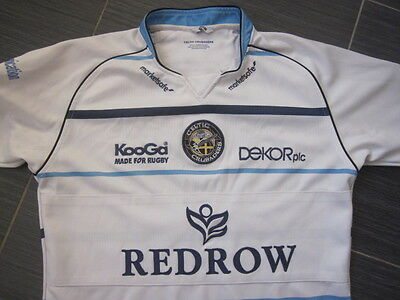 Mens Wales Celtic Crusaders 2008 KooGa Brains Away Rugby League Shirt (M)