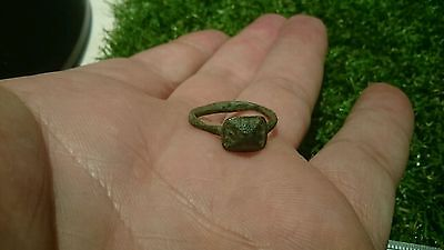 Lovely Roman bronze ring found in Yorkshire Uk near York