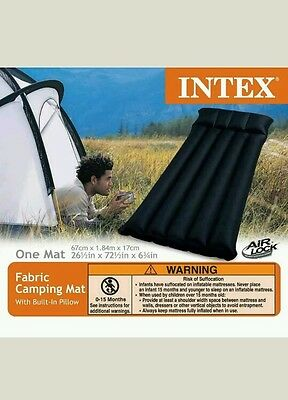 Camping Mat Mattress Inflatable Fabric Airbed Outdoor Travel Pool Waterproof New