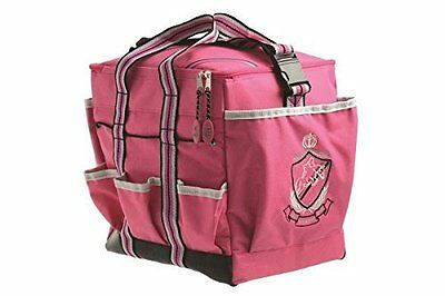 HySHINE Deluxe Grooming Bag - Pink - Horse Equestrian Grooming Boxes & Bags