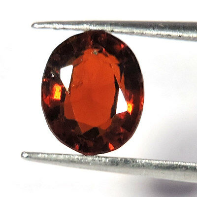 3.65Cts RARE QUALITY MAGNIFICENT NATURAL AXINITE OVAL CUT LOOSE GEMSTONES