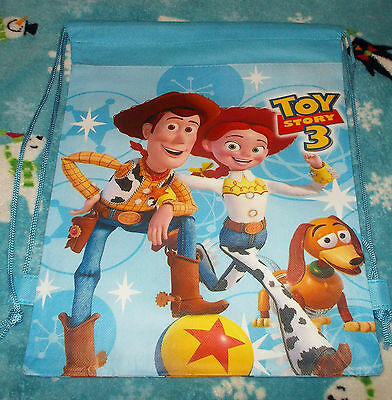 New Toy Story 3 (21) Tote Bag / Overnight Bag / Backpack, Blue, Woody, Buzz