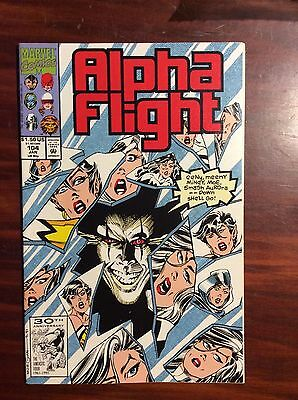 Marvel Comics Alpha Flight #104