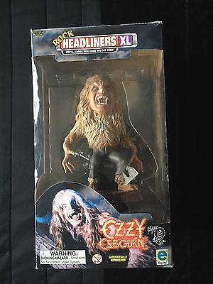 Ozzy Ozbourne Statue Plus Bonus Ozzy In A Box
