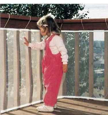YCT Balcony Stairs Safety Net for Children 118inch