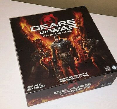 Gears of war board game: complete in box