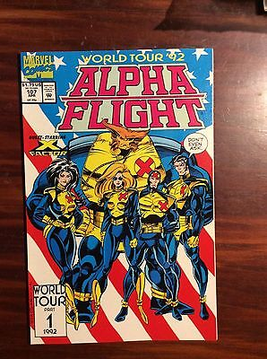 Marvel Comics Alpha Flight #107