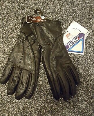 BNWT leather breathable waterproof soft motorcycle gloves XL
