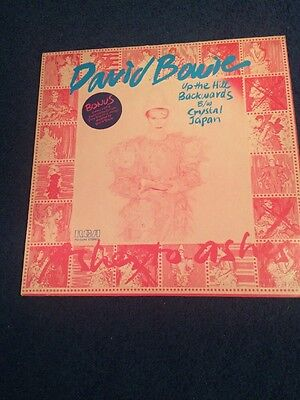 """David Bowie - Up The Hill Backwards, 12"""" Single & Scary Monsters Stamps Intact"""