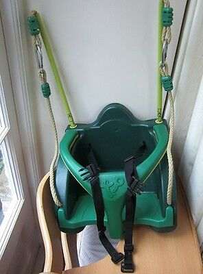 TP Quad Pod swing seat. Baby swing with harness.