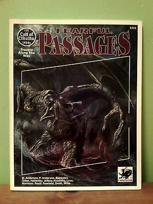 Fearful Passages (Call of Cthulhu 1920s) | Chaosium 2335