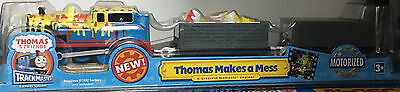 Hit Thomas & Friends Trackmaster Motorized Thomas Makes a Mess