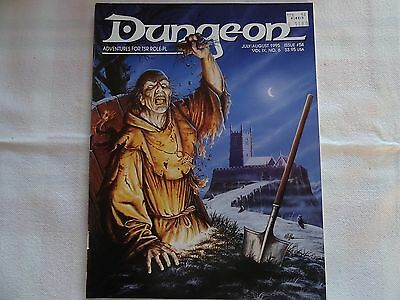 "54 Dungeon ""Adventures for TSR Role-Playing Games"" -english- (AD&D, D&D, MERP)"