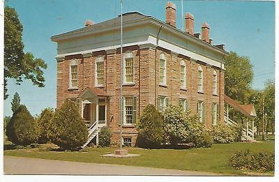 First State Capitol Building, Fillmore, Utah, 1960's Post Card