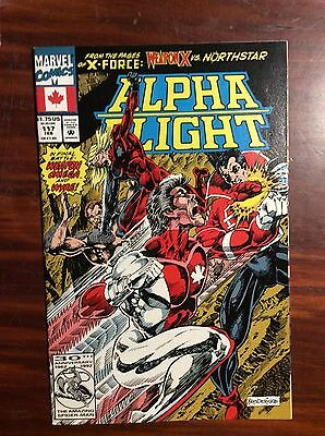 Marvel Comics Alpha Flight #117