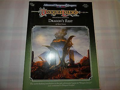 "Dragon's Rest ""AD&D 2nd Edition Dragon Lance"" -english- (AD&D, D&D, MERP)"