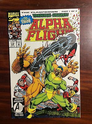 Marvel Comics Alpha Flight #118