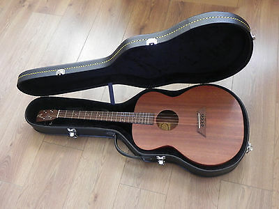 Ashbury AT-24 Sapele Tenor Guitar with DGBE tuning + Black Guitar Case