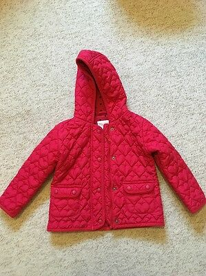 Next Girl red coat 3-4 Years