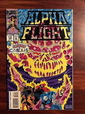 Marvel Comics Alpha Flight #126