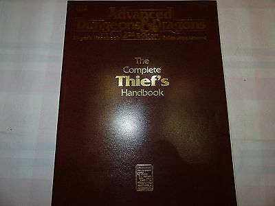 "The Complete Thief's Handbook ""AD&D 2nd Edition"" -english- (AD&D, D&D, MERP)"