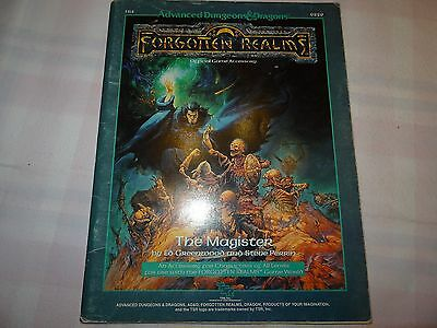"The Magister ""AD&D 2nd Edition"" -english- (AD&D, D&D, MERP)"