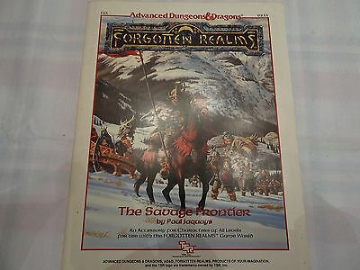 "The Savage Frontier ""AD&D Forgotten Realms"" -english- (AD&D, D&D, MERP)"