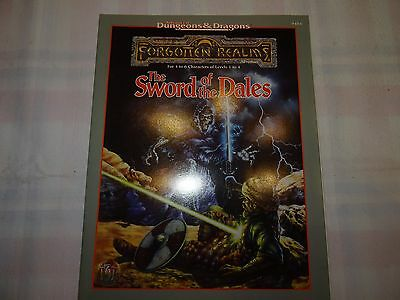 """The Sword of the Dales """"AD&D Forgotten Realms"""" -english- (AD&D, D&D, MERP)"""