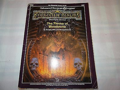 """The Throne of Bloodstone """"AD&D Forgotten Realms"""" -english- (AD&D, D&D, MERP)"""