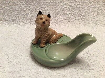 Wade Norwich Terrier Pipe Rest MINT CONDITION