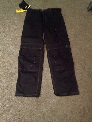 snickers work trousers Black