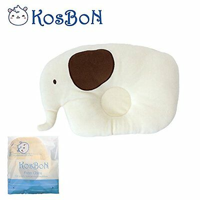 KSB 7.8 Inches Cute Soft Anti Roll PP Cotton Baby Head Positioner Pillow,Prevent