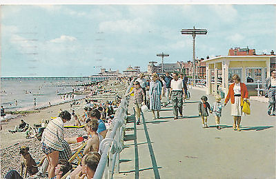 Postcard Bognor Regis Sussex The Beach And Promenade 1967