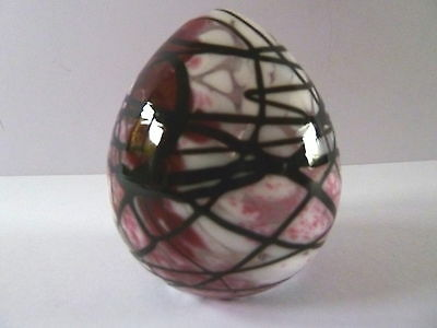 DARTINGTON ART GLASS MULTI COLOURED PAPERWEIGHT with LABEL