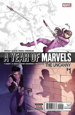 A Year Of Marvels Uncanny #1 (2016) 1St Printing Bagged & Boarded
